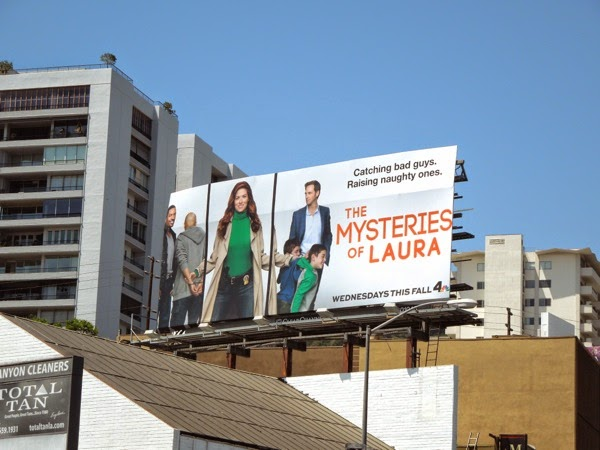 Mysteries of Laura season 1 billboard