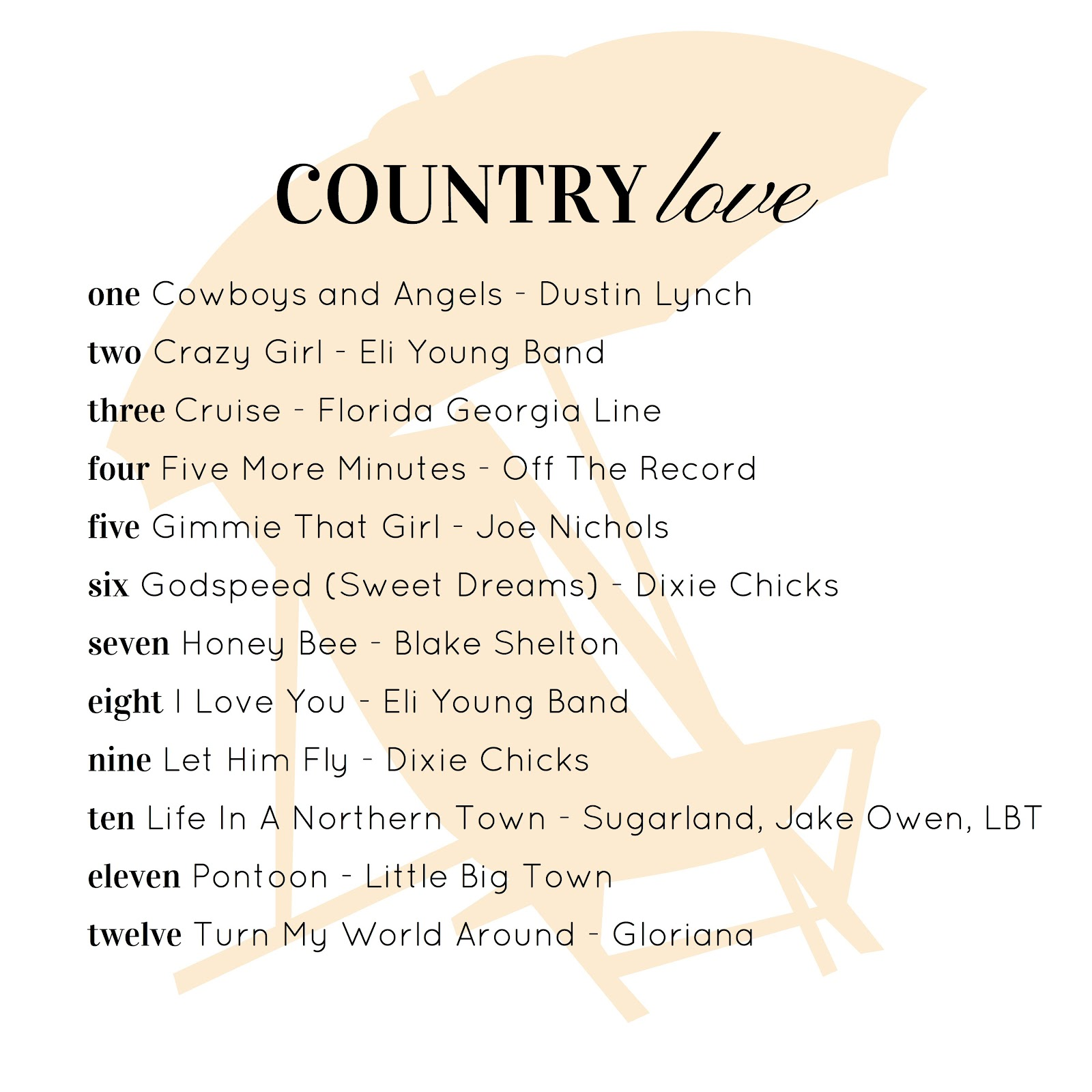 cute country relationship songs 2013