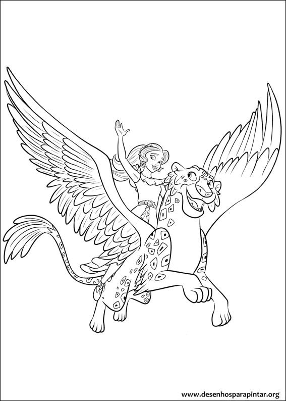 Coloring Pages For Kids Free Images Elena Of Avalor Coloring Free