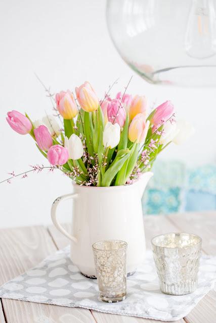Friday Flowerday, Pomponetti, Tulpenstrauß