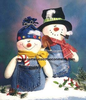 Muñecos-de-nieve