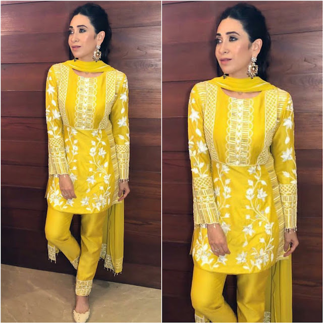 Karisma Kapoor Celebrates Ganesh Chatruthi in this Outfit