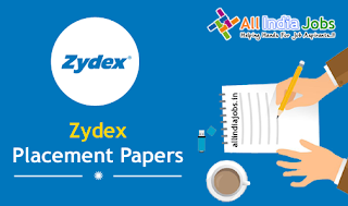 Zydex Industries Placement Papers