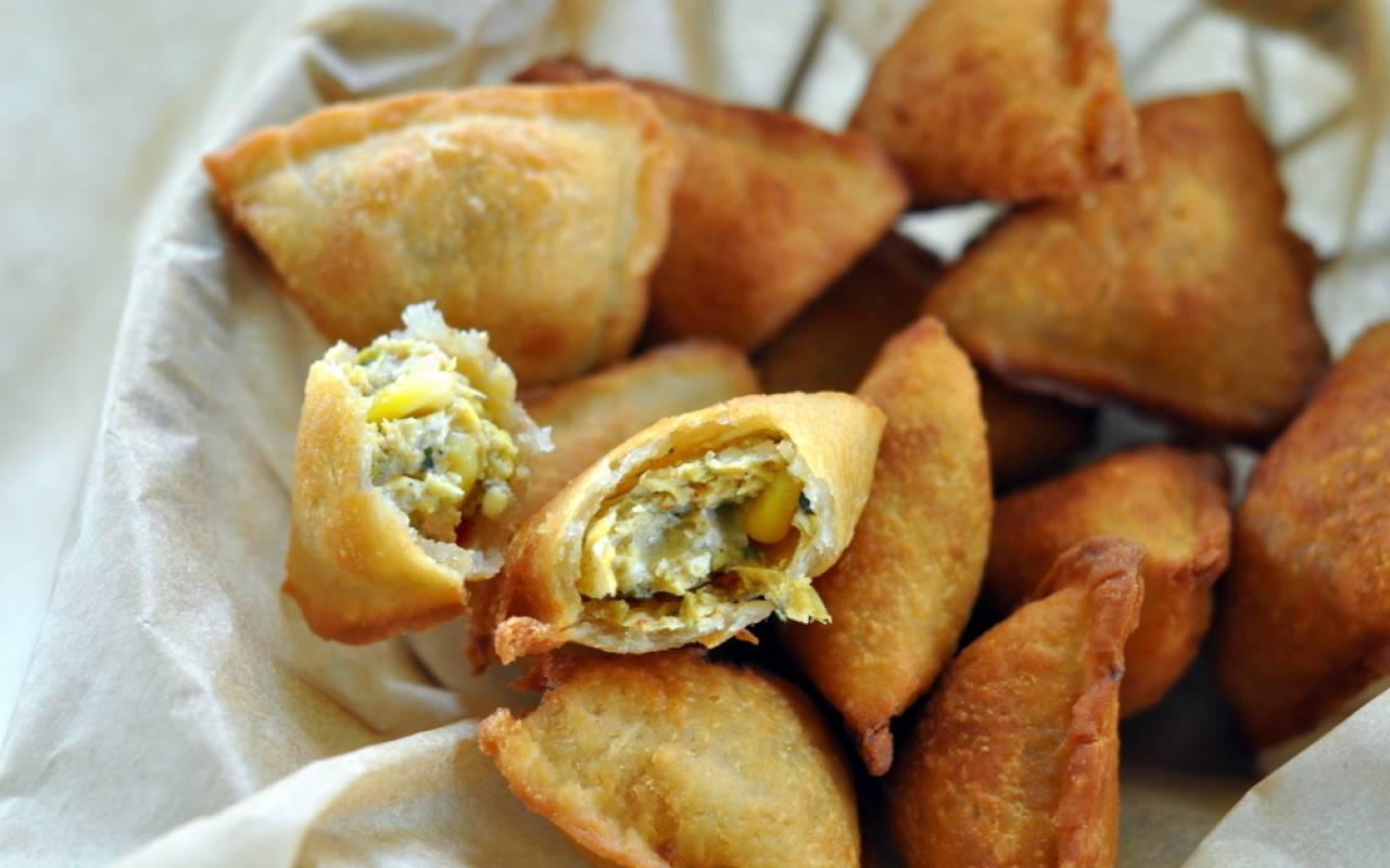 Image result for macaroni samosa
