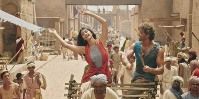 Mohenjo daro video song Sarsariya