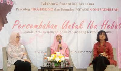 talkshow parenting anak down syndrome bersama potads