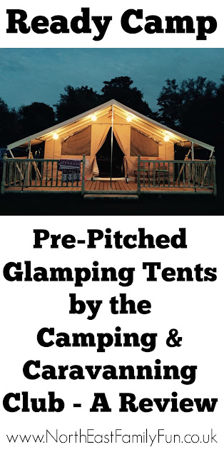 Ready Camp Scarborough - Glamping from the Camping and Caravanning club