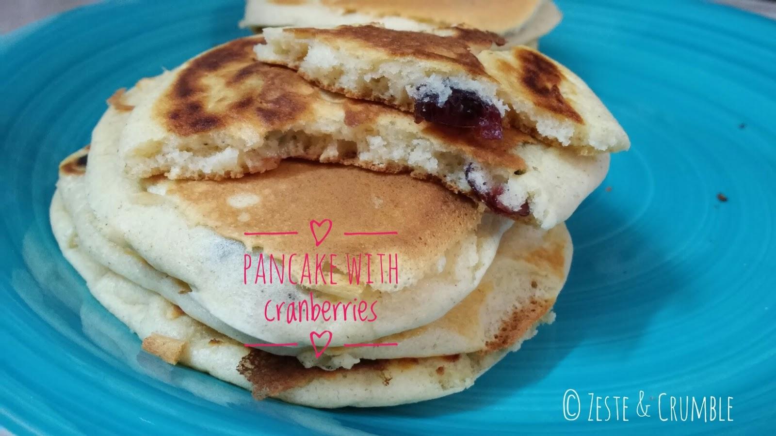 pancake mirtilli