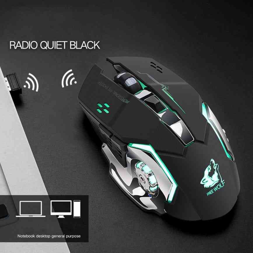Free Wolf X8 Mouse Wireless