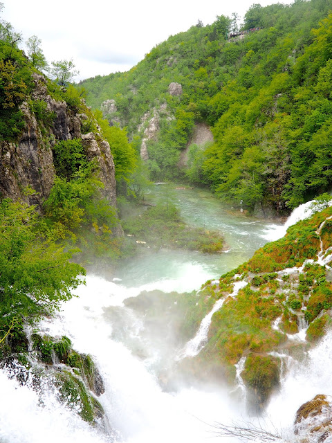 Waterfalls at Plitvice Lakes National Park, Croatia