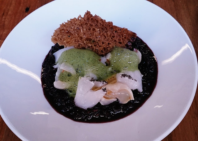 Sartoria, Preston, sticky black rice pudding