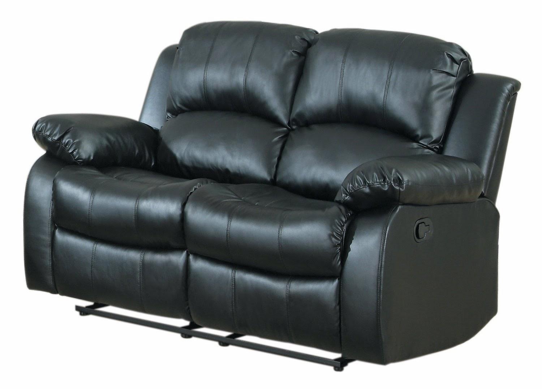 2 Double Small Reclining Sofa