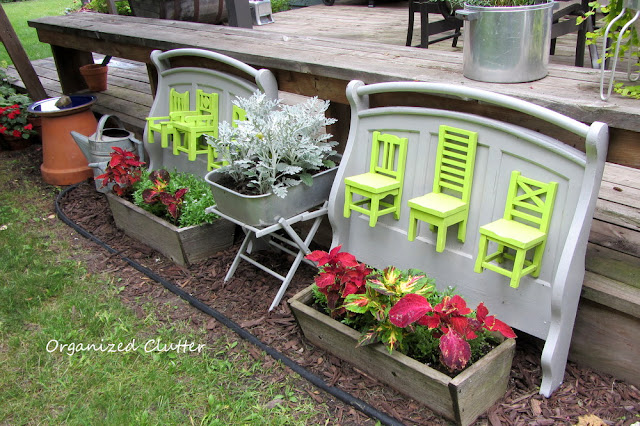 Repurposed Futon Arms and Pottery Barn Chairs