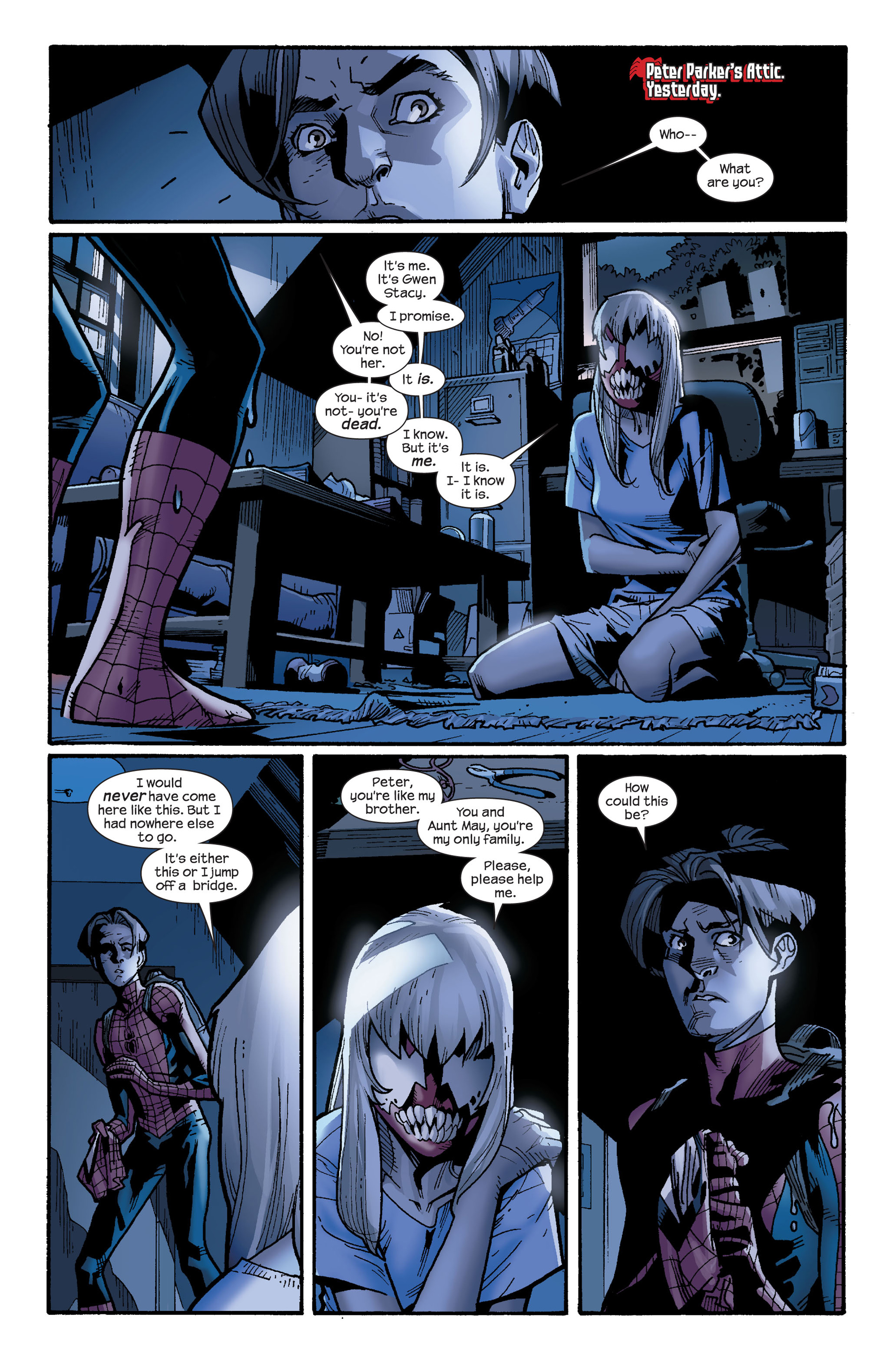 Read online Ultimate Spider-Man (2000) comic -  Issue #128 - 4