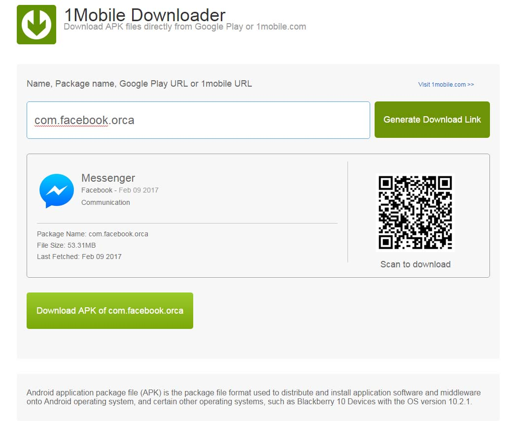 android download file from url