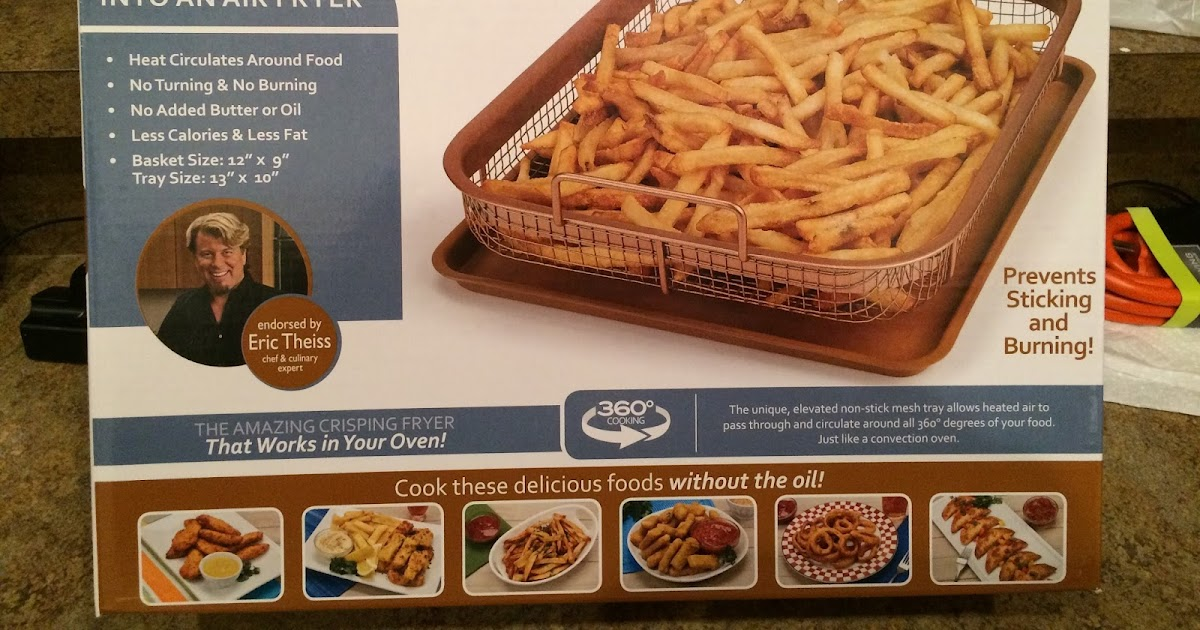 French Fry Diary French Fry Diary 727 Copper Crisper