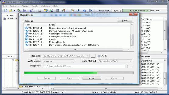 UltraISO screenshot 2