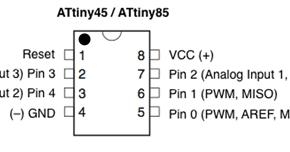 Projects from Tech: Serial Communication on a ATtiny85 with the