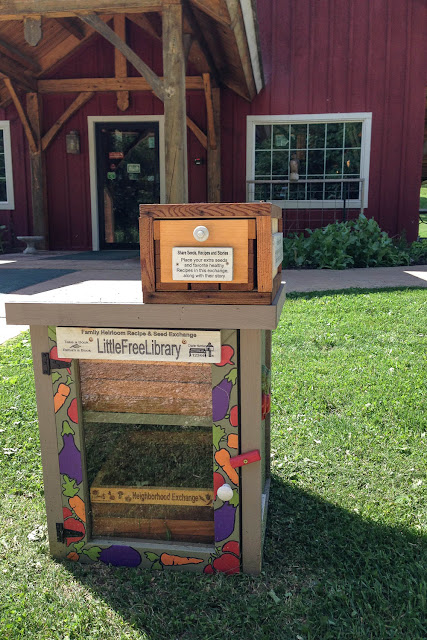 Seed Savers Exchange, Little Free Library, Decorah, Iowa,
