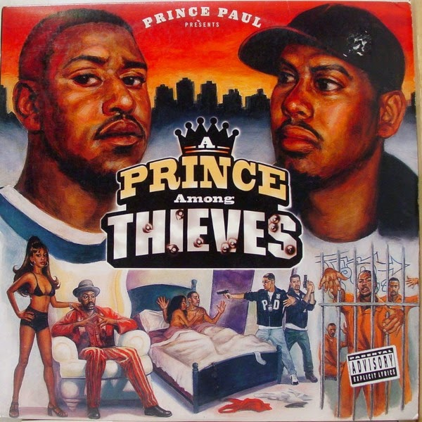 Prince Paul - Prince Among Thieves Cover