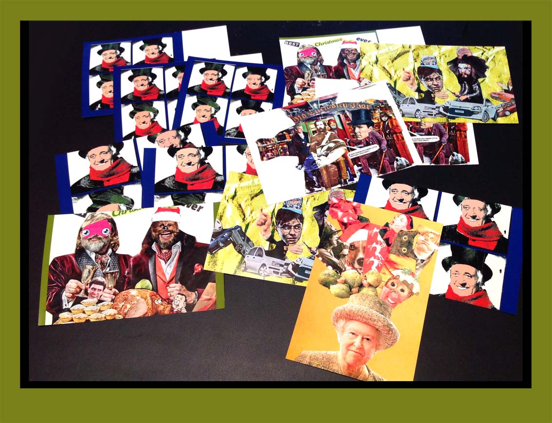 The Kollage Kit: Collages of Christmas Past ( Card-Making )
