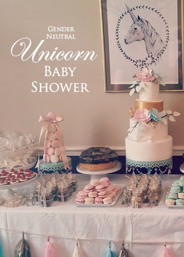 Unicorn Baby Shower Gender Neutral