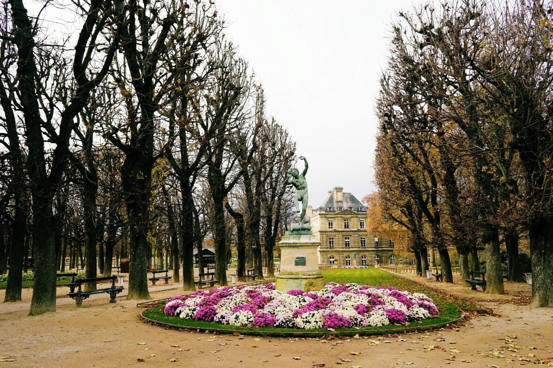 Autumn in Jardin du Luxembourg
