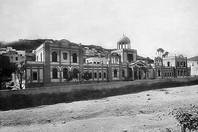 El antiguo Hospital Militar de Las Palmas de Gran Canaria (Foto de Internet)