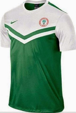 pretty nice f4f60 5f585 Checkout The New Design Of The Nigerian National Team Jersey ...