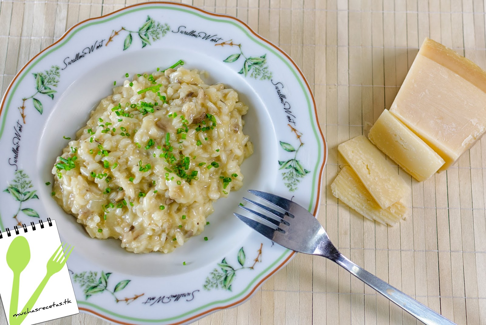 Muchasrecetasdecocina risotto con setas - Risoto con setas ...