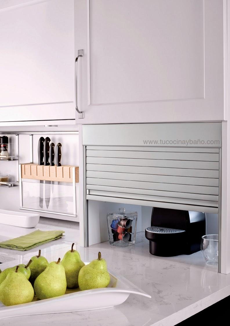 persiana aluminio mueble cocina  tu Cocina y Bao