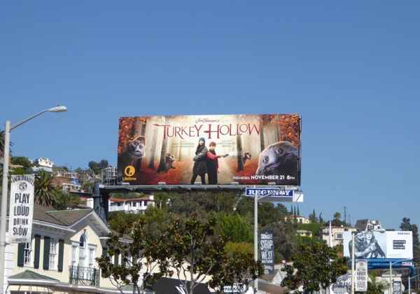 Turkey Hollow TV movie billboard
