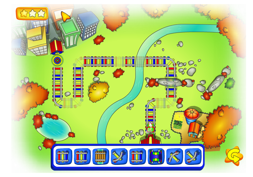 http://pbskids.org/caillou/games/train/