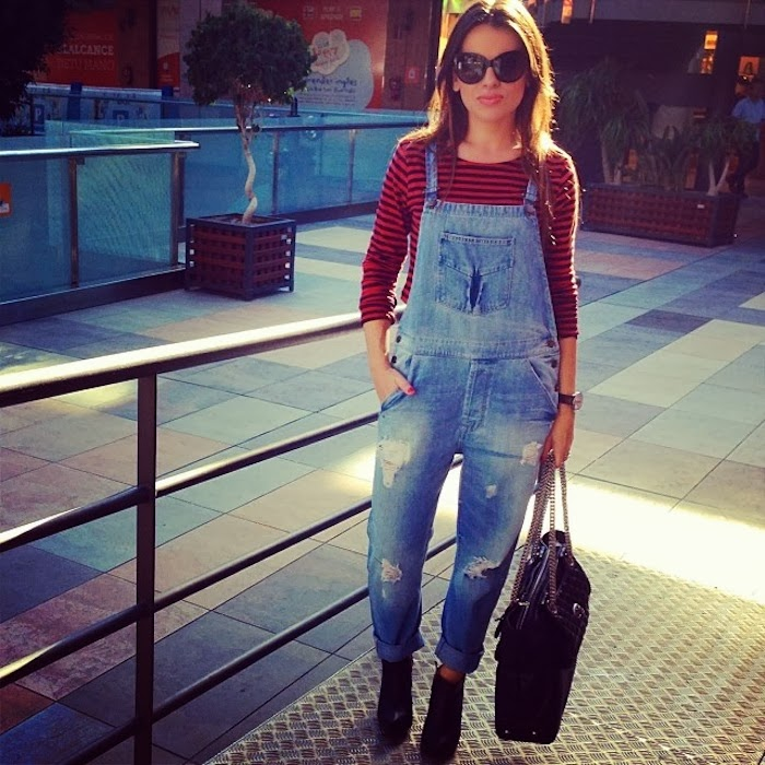 Denim Dungaree StreetStyle