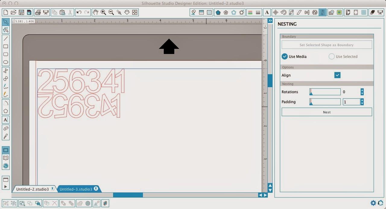 Nesting tool, Silhouette Studio, pro, Silhouette tutorial, align box