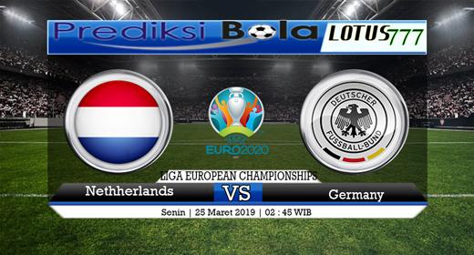 prediksi Netherlands vs Germany tanggal 25 maret 2019