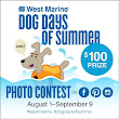 West Marine| Dog Days of Summer Photo Contest