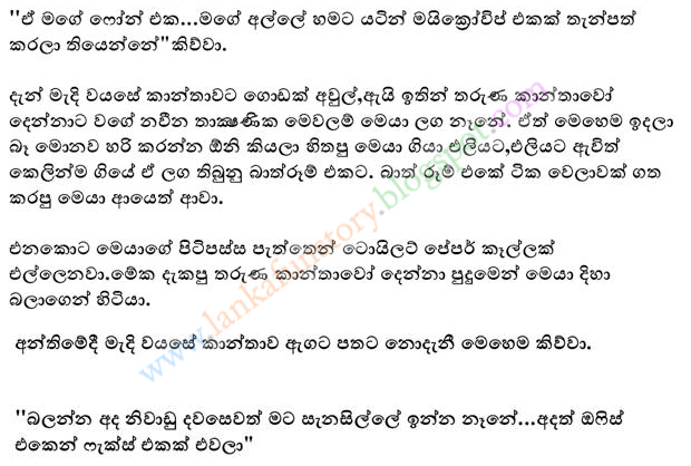 Sinhala Jokes-Three Woman-Part Two