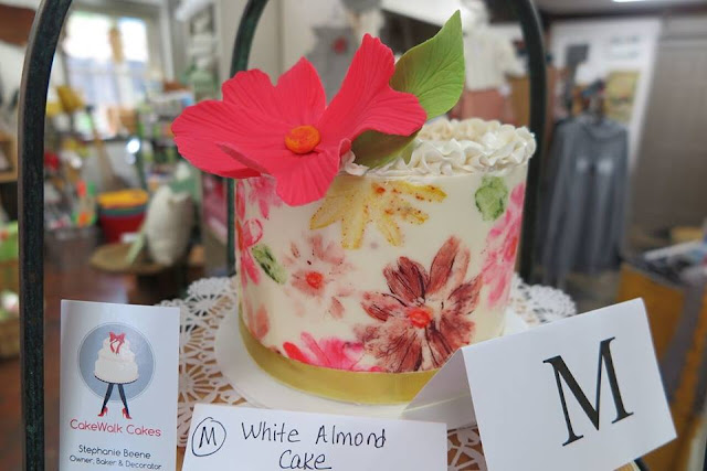 Beautiful and delicious cake at a previous Live Auction Cake Sale Cake by Cakewalk Cakes