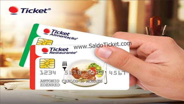 saldo cartões ticket
