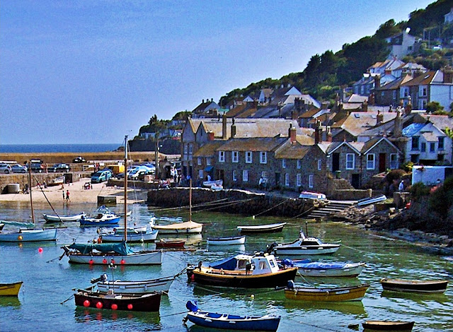 The harbour at Mousehole, Cornwall