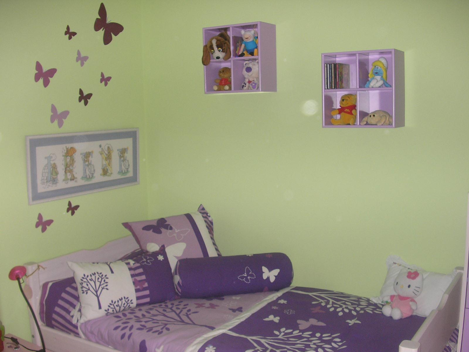 Reflejos de mujer decoraci n de una habitaci n infantil - Habitacion infantil rosa ...