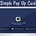 Cara Membuat Widget Pop Up Card Di Blogger