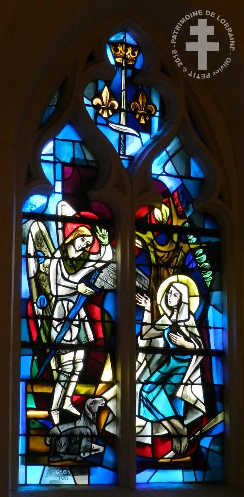 DOMREMY-LA-PUCELLE (88) - Eglise Saint-Remy (XVe-XIXe siècle)