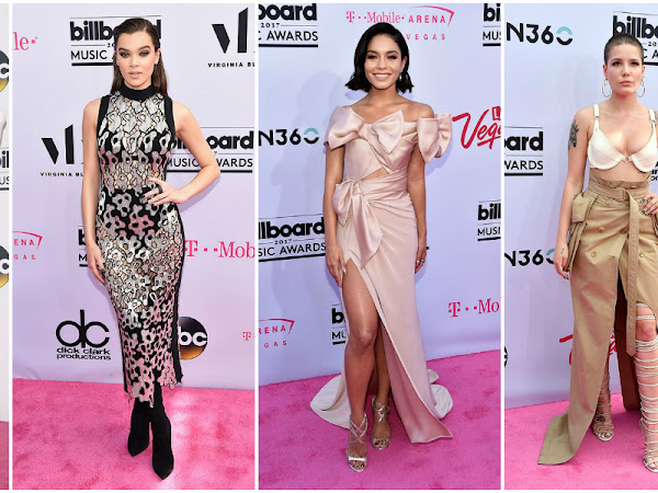 Vestidos da Noite - Billboard Music Awards 2017