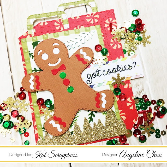 ScrappyScrappy: [NEW VIDEO] Gingerbread Man Gift Card Holder with Kat Scrappiness #scrappyscrappy #katscrappiness #dcwv #katscrappinessstamp #katscrappinesssequin #katscrappinessdiecut #christmas #gingerbreadman #giftcardholder #stamp #stamping #craft #crafting #papercraft #diycraft #diecut #sequins #youtube #processvideo #quicktipvideo