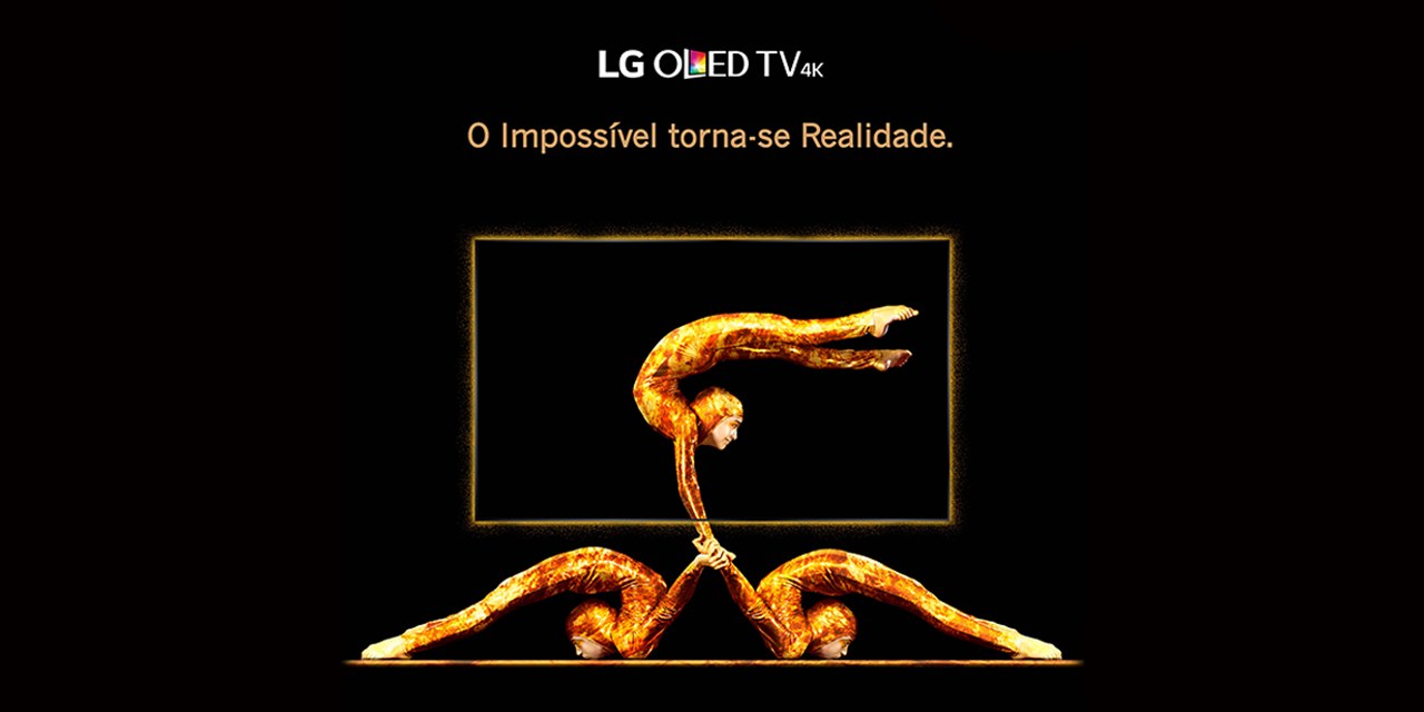 a minha casa digital lg oled tv 4k lan a campanha que torna o imposs vel realidade. Black Bedroom Furniture Sets. Home Design Ideas