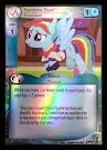 My Little Pony Rainbow Dash, Snowdash Defenders of Equestria CCG Card