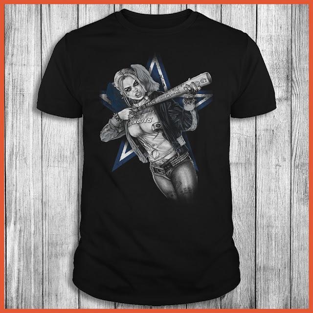 Dallas Cowboys Harley Quinn T-Shirt