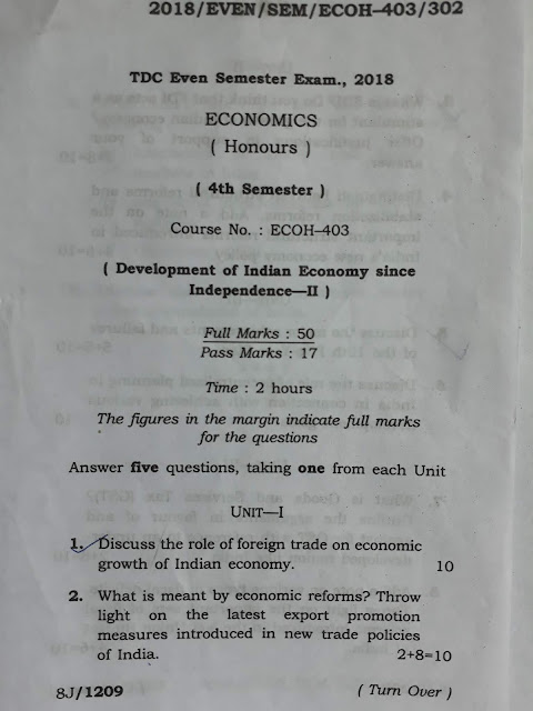 AUS previous year paper, Model Question Paper, Sample paper